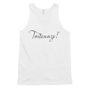 Classic Tostonazo Tank Top (unisex)