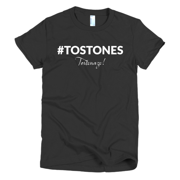 #Tostones Short Sleeve Women's T-Shirt